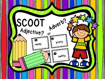 SCOOT - Adjective ? or Adverb?