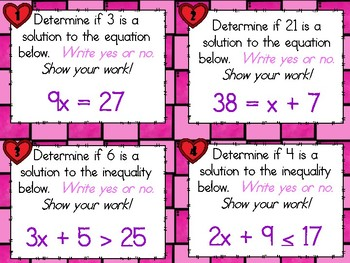 SCOOT - Algebra Equations & Inequalities (CCSS Aligned)