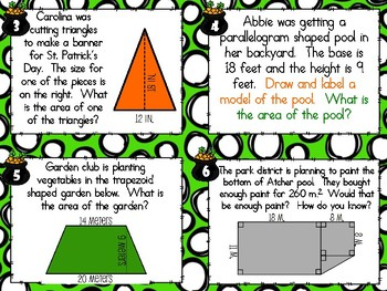SCOOT - Area of Polygons (CCSS Aligned)