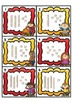 SCOOT! Autumn Themed Task Cards using MAB Blocks