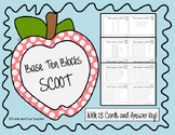 Base Ten Blocks Task Cards/SCOOT {28 Cards}