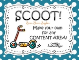 SCOOT! Basic Game Supplies for ANY Content Area!