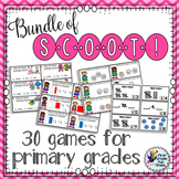 30 ELA Math and Science Scoot Games Bundle
