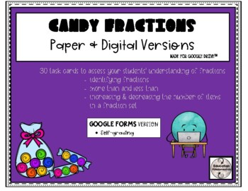 SCOOT - Candy Fractions Task Cards