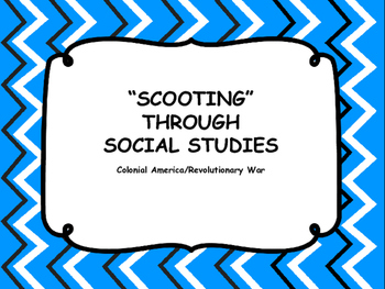 Colonial America/Revolutionary War - SCOOT