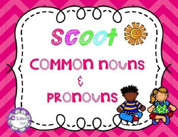 SCOOT Common Nouns & Pronouns
