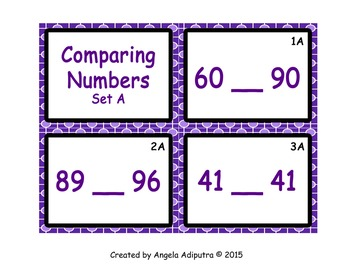 SCOOT - Comparing Numbers (1-100) 1.NBT.B.3