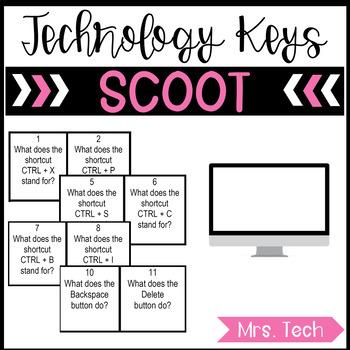 SCOOT - Computer Keyboard Keys