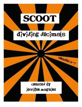 SCOOT - Dividing Decimals