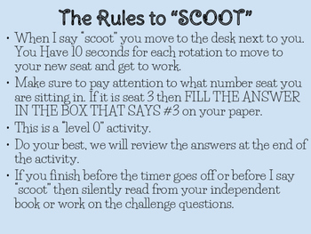SCOOT Envision Topic 2 5th Grade Math Review