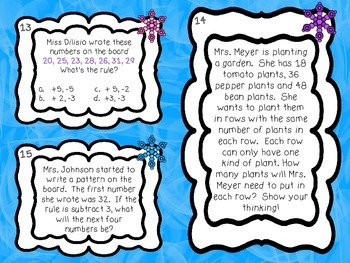 SCOOT - Factors, Multiples and Patterns (Common Core Aligned)