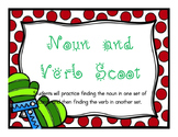 SCOOT: Finding the noun and verb in a sentence BUNDLE {winter theme}