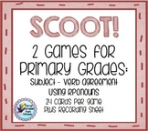 SCOOT!  Subject/Verb Agreement & Pronouns
