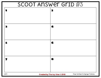 SCOOT - Fractions (Small Group) 4.NF.3