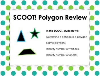 SCOOT! Geometry Polygon Game