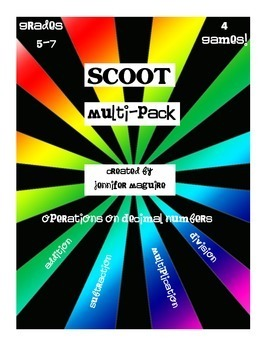 SCOOT - Multi-pack Bundle!  Save 25% on the bundle!