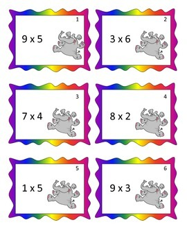 SCOOT - Multiplication Facts