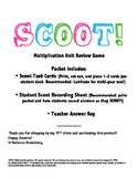 SCOOT Multiplication Review Game