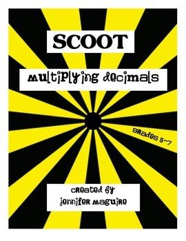 SCOOT - Multiplying Decimals