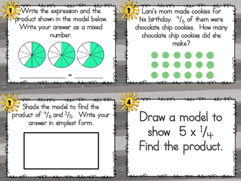 SCOOT - Multiplying Fractions (Common Core Aligned)