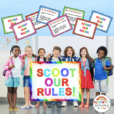 Back to School SCOOT OUR RULES! : A Scoot Game for Classro