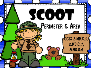 SCOOT - Perimeter & Area (CCSS Aligned)
