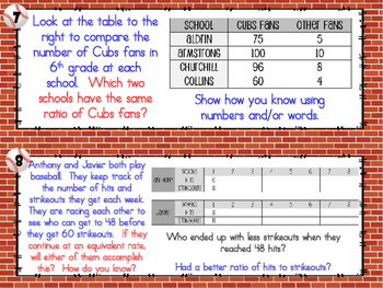 SCOOT - Ratios& Rates (Common Core Aligned