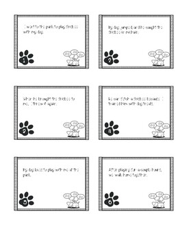 SCOOT - Sentence Types (Simple, Compound, Complex) Task Cards