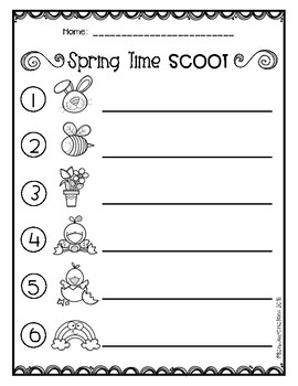 SCOOT - Spring Time Freebie