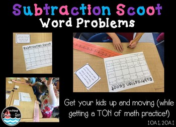 SCOOT! Subtraction Word Problems