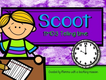 SCOOT Telling Time 1.MD.3