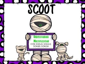 SCOOT - Understanding Multiplication  Arrays (Common Core
