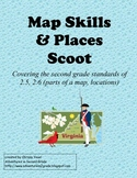 SCOOT:  Virginia Map Skills for Second Grade