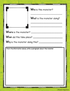SCOOT WRITING GAME: 5 W's Using Google Slides™