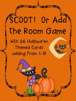 SCOOT! or Add the Room Hallowe'en from 1-10
