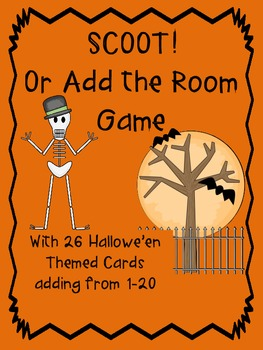 SCOOT! or Add the Room Hallowe'en from 1-20