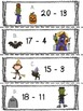 SCOOT! or Subtract the Room Hallowe'en from 1-20