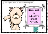 SCOOT style activity/Task Cards - Noun, verb adjective