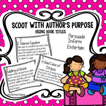 SCOOT with Author's Purpose using Book Titles