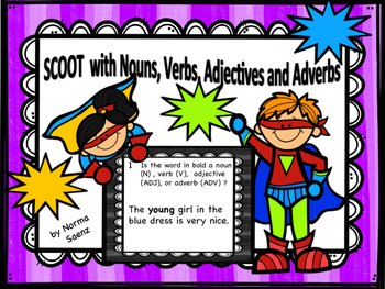 SCOOT with Nouns, Verbs, Adjectives, and Adverbs