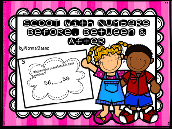 SCOOT with Numbers - Before, Between, & After