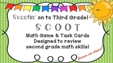 SCOOTIN' on to Third Grade! Common Core Math Review Activity