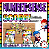 NUMBER SENSE: Numbers to 20, Number Sense Activity, Numbers Game, Numbers