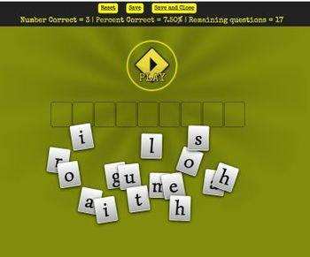 SCORM Spelling Tester by PracticeEngineer D thru H