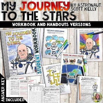 SCOTT KELLY, MY JOURNEY TO THE STARS, WORKBOOK, READ ALOUD ACTIVITIES