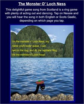 SCOTTISH SONG: I'm The Monster O' Loch Ness
