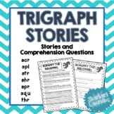 Trigraph Stories - Reading Comprehension Passages - scr, spl, str, shr, squ, thr