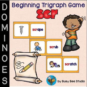 SCR:Trigraph Domino Game