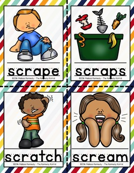 Word Work: Trigraph - SCR