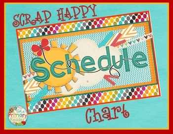 DAILY SCHEDULE POCKET CHART KIT